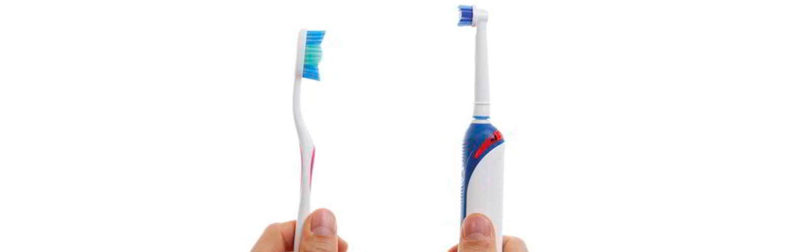 cepilló dental o eléctrico